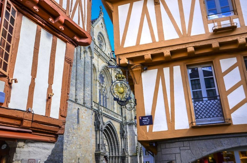 Hotel in Vannes city center 3 stars